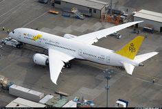 Airliners.net - A top down view of the first 787-8 for Royal Brunei Airlines. Bernie Leighton.