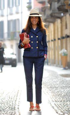 Viviana Volpicella On: Menswear-Inspired Style