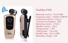 Fineblue F920 wireless stereo bluetooth headset, View bluetooth headset , Fineblue Product Details from Foshan Shunde VSDI Electrical Appliances Co., Ltd. on Alibaba.com