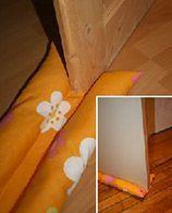 Fabriquer un boudin de porte pour gagner quelques degrés ! | écoconso