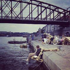 Pražská náplavka | Vltava Riverside | http://www.iconhotel.eu/cs/contact/map