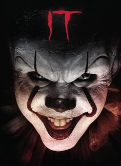 Shop It [Blu-ray] at Best Buy. Find low everyday prices and buy online for delivery or in-store pick-up. Clown Horror, Horror Monsters, Halloween Drawings, Halloween Pictures, Pennywise Tattoo, Scary Wallpaper, Horror Drawing, Indian Photoshoot, Horror Artwork