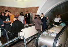 Презентация журнала «Птюч» прошла в сентябре 1994-го в здании станции метро «Красные Ворота» | Фотография: Николай Малышев/ИТАР-ТАСС