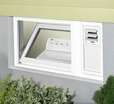 Hopper window : basement window ventilation  - Aeropaca.Org