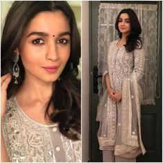 Alia Bhatt was clicked at the annual Mumbai Police show, Umang. The event is organised every year to pay respect and honour to the Mumbai police. Alia looked beautiful in a traditional attire.