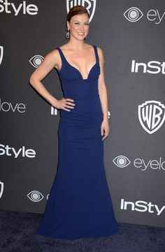 Adrianne Palicki – 2017 InStyle and Warner Bros Golden Globes After Party in LA