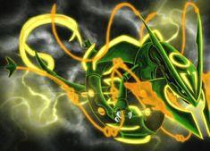 Mega Rayquaza, Pokemon Rayquaza, Godzilla, Concept Art, Characters, Conceptual Art, Figurines