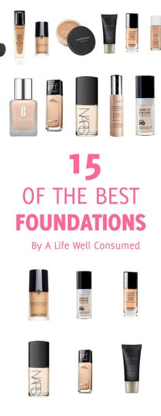 15 of the best foundations