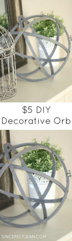 DIY Decorative Orb f