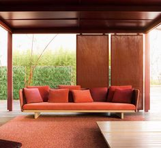 Sabi is a seating collection by Francesco Rota for Paola Lenti #outdoor #PaolaLenti #MadeInItaly