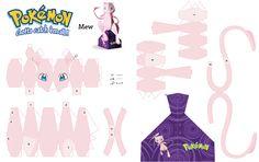 Resultado de imagen para papercrafts pokemon