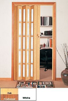 Full Glass Panel Folding Door - Mobile Home Center & Accordion Doors - Custom Accordion Doors Folding Doors \u0026 Sliding ...