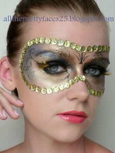 different spin on the masquerade ball mask