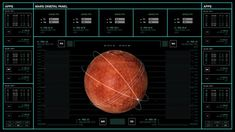 """Territory Studio Takes UI All the Way to Mars in """"The Martian"""""""