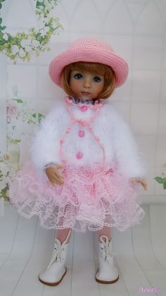 Doll Costume, Costumes, Thing 1, Glitter Girl, Knitted Dolls, Little Darlings, Vintage Dolls, Beautiful Eyes, Doll Clothes