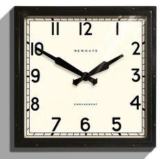 Embankment Wall Clock - Clocks - Home Accents - Home Decor | HomeDecorators.com