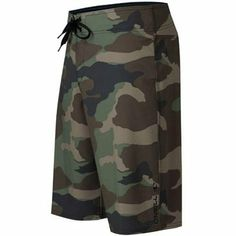 91d71713c0 O'Neill Santa Cruz 4-Way Stretch Boardshort - Camo Surf Accessories, Skate
