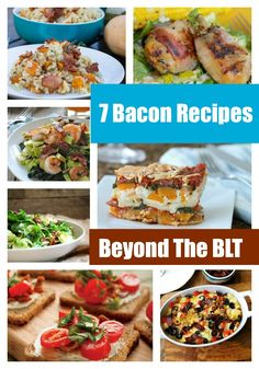 Bacon Recipes For Adults: 7 Great Finds Beyond The BLT | Lady and the Blog