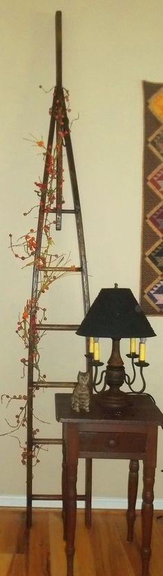 Vintage Wood Orchard Apple Picking Ladder  by Treasuresbybetsy, $250.00