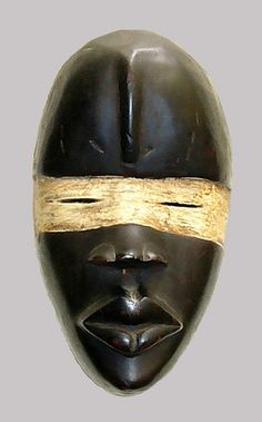 Ivory Coast Dan Mask (front view) | Flickr - Photo Sharing!