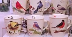 Wild Birds Unlimited: Beautiful bird mugs available at the Wild ...