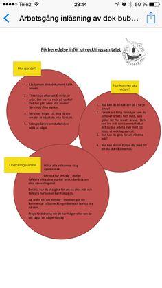 Elevledda utvecklingssamtal Diagram, Chart