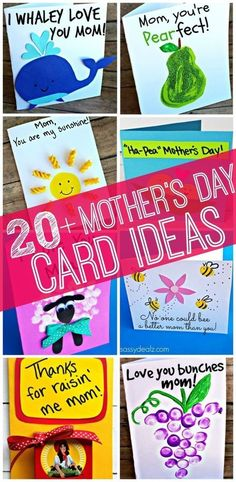 Easy Mother's Day Cards & Crafts for Kids to Make - Crafty Morning