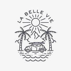 Design Art, Logo Design, Graphic Design, Artwork Design, Illustration Tattoo, Surf Art, Easy Drawings, Pencil Drawings, Logo Inspiration