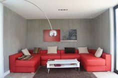 Detalle interior #salón vivienda #Addomo #hormigon #arquitectura #diseño #modular addomo.es