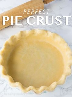 This is the Perfect Pie Crust recipe! Easy to work with, quick to make, tastes flakey and doesn't fall apart! ~BEST PIE CRUST EVER sm Flakey Pie Crust, Pie Crusts, Pie Dessert, Dessert Recipes, Just Desserts, Delicious Desserts, Graham, Perfect Pie Crust, Simple Pie Crust