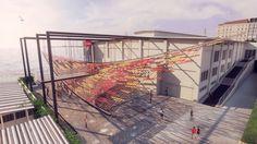 YAP İstanbul Modern: Yeni Mimarlık Programı: Tearing The Ground  ONZ Architects