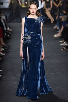 Harry Potter Ravenclaw House Style dress robes from Elie Saab Autumn/Winter 2016 Couture Collection