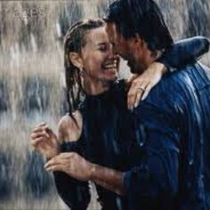 Dance, play, do just about anything with my man in a rain storm!