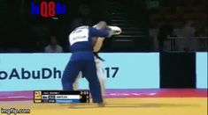 """juji-gatame: """"Just enjoy it… it's Tani-otoshi time! This russian dude just made my day! """""""