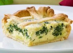 Pita od špinata sa sirom i jajima – proljetna ljepotic Bread And Pastries, Spanakopita, Quiche, Sushi, Gem, Cooking Recipes, Breakfast, Ethnic Recipes, Food