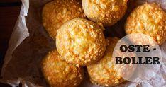 En fantastisk lækker og smagsfuld bolle som passer perfekt ned i madpakken. Hvis du står med en rest dej og noget ost så kan du hurtig sp... Bread Bun, Home Recipes, Bread Baking, Muffin, Cheese, Breakfast, Ethnic Recipes, Buns, Pizza