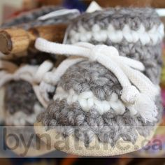 Padraig Wool Slippers are handmade in Canada. Our baby slippers make perfect newborn slippers, infant slippers or babies slippers. Baby Knitted Booties in Canada. Knit Baby Booties, Baby Slippers, Merino Wool Blanket, Baby Knitting, Gift Guide, Baby Gifts, Baby Shoes, Feels, Winter Hats