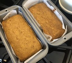 Recipes and Blog Pumpkin Bread, Pumpkin Spice, Baking Pans, Baking Soda, Real Maple Syrup, Roasted Butternut Squash, Fall Treats, Mini Chocolate Chips, Recipe Using
