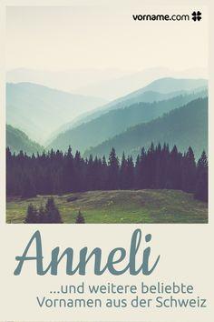 Dir gefällt der Name Anneli? Hier findest Du eine Liste wunderschöner Vornamen für Mädchen und Jungen, die in der Schweiz beliebt sind.