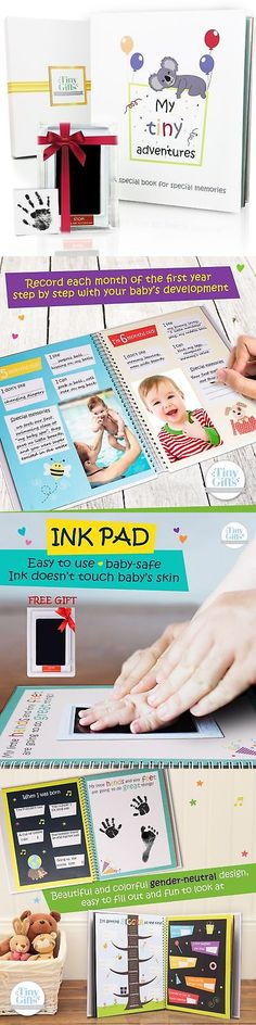 Keepsakes and Baby Announcements 117388: First 5 Years Baby Memory Book + Clean-Touch Ink Pad + Gift Box. Record Your ... -> BUY IT NOW ONLY: $35.08 on eBay!