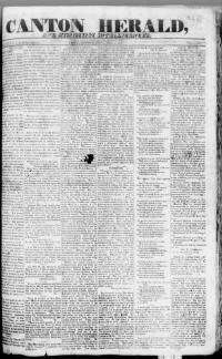 MADISON COUNTY, Mississippi - Canton - 1837 - Canton Herald and Mississippi Intelligencer. « Chronicling America « Library of Congress