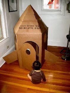 Cardboard Rocket Shi
