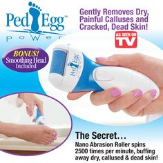 PedEgg Power Dry Foot Smoother