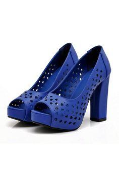 Graceful Peep-Toe Sandals OASAP.com
