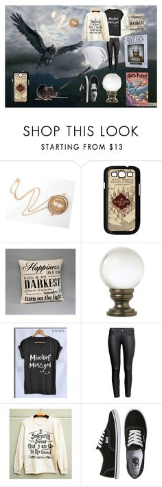 """Prisoner of Azkaban"" by x-sweetea-x ❤ liked on Polyvore featuring Samsung, Universal Lighting and Decor, H&M, Vans, Phase 3, harrypotter, hogwarts and prisonerofazkaban"