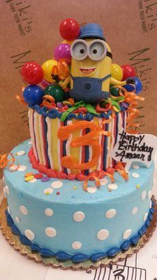 Despicable Me cake maybe for Cella's Birthday