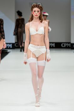 Lauma Lingerie Grand Defile Moscow Honeymoon collection SS 16