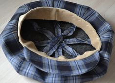How to Make Newsboy Hat, step 14