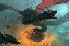 King Kong, Godzilla Vs King Ghidorah, Dragon Art, Monster, Fantasy Art, Horror, Aliens, Illustration, Demons