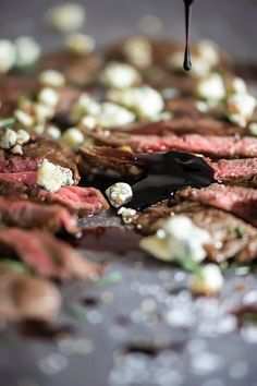 Flap meat makes the best seared steak and it's great for so many recipes like fajitas, tacos and salads. Drizzle with a balsamic reduction and blue cheese.